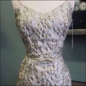Dresses & Skirts - Vintage 1960's silver dress